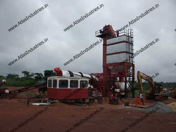 asphalt drum mix plant exporters in India