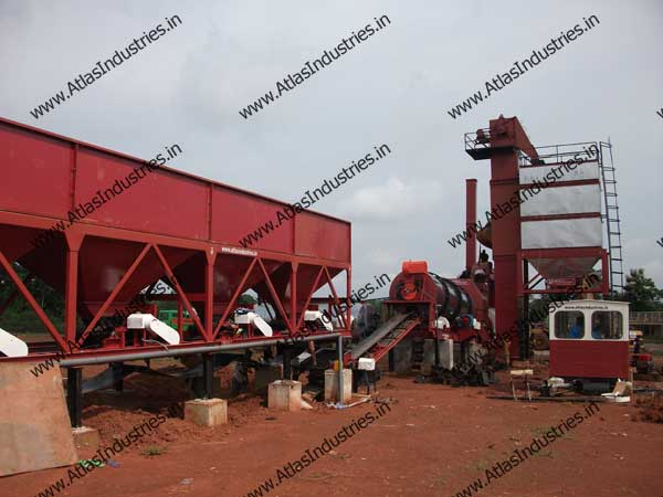 asphalt drum mix plant exporters from India