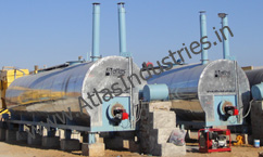 BITUMEN STORAGE AND SUPPLY TANKS