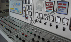 Control panel of hot mix plant