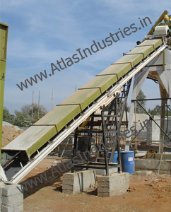 Slinger conveyor