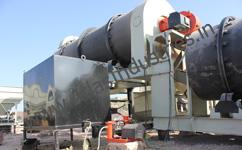 Fuel tank for asphalt dryer drum burner
