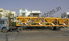 Mobile aggregate feeder
