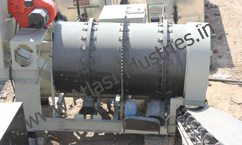 Mixing drum of asphalt mixing plant