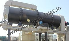 Drying drum of asphalt plant