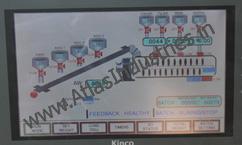 Panel with digital display