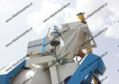 15 cum/hr. portable concrete mixer machine near Dhandhuka, Gujarat