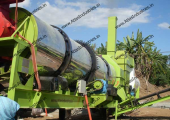 Atlas make portable drum mixing plant working in Philippines