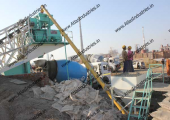 30 cum/hr. portable concrete batching plant near Bharuch, India