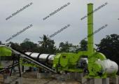 Asphalt drum mix plant installed in Philippines