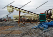 Hot mix plant installed in Nigeria