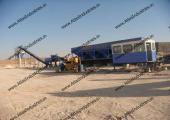 Soil stabilization plant in Libya