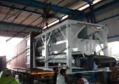 90 cum concrete batch plant for Nigeria