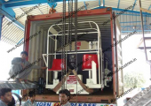 Tar spraying equipment for Egypt