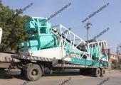 30 cum/hr. portable concrete batching plant near Bharuch, India