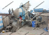 Concrete mixing plant of 20 m3/hr. near Saputara, India
