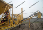 20-30 tph capacity mobile asphalt plant installed in Orissa, India