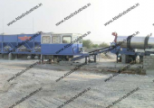 Mobile asphalt mixing plant installed in Oman by Atlas Industries