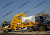 Portable asphalt mixing equipment for Cameroon