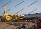 Asphalt drum mixing plant installed in Nigeria