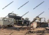 Asphalt plant near Jodhpur, India