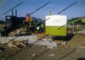 Mobile asphalt plant installed in Philippines