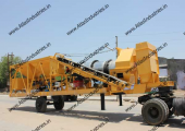 Mobile asphalt mix plant in Somalia