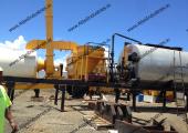 40-60 tph portable asphalt plant installed in American Samoa