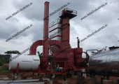 Asphalt plant installed in Nigeria