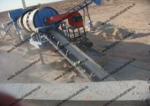 Drum mix type asphalt plant installed in Libya