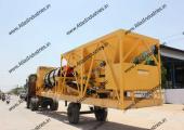 Mobile asphalt mix plant in Somalia