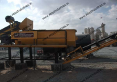 Wet mix macadam plant installed in UAE