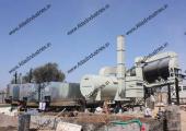 Double drum asphalt plant near Merta, Rajasthan