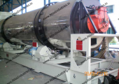 Portable hot mix asphalt plant for Nigeria