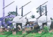 Asphalt drum mix plant installed in Nigeria