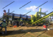 Mobile asphalt plant installed in Philippines