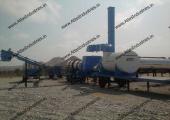 Mobile asphalt mixing plant installed in Oman by Atlas Industries