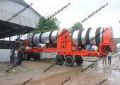 Double drum asphalt mixer for Tanzania