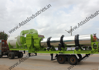 Mobile hot mix plant in Philippines - 40-60 tph