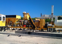 Mobile asphalt plant: 20 to 30 tph