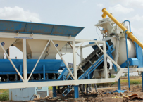 Mobile RMC plant - 10 to 25 m3/hr.